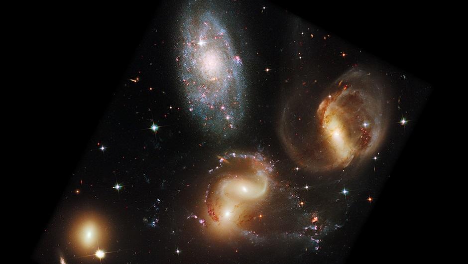 галактики видимые фото потолке