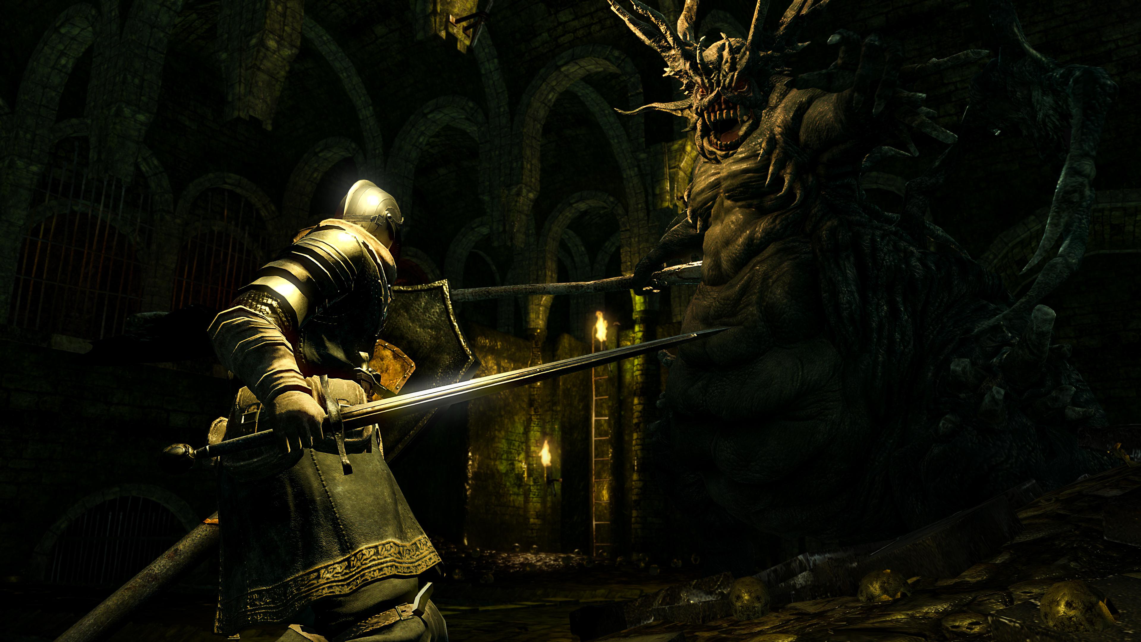 Усовершенствованную графику Dark Souls Remastered впервый раз сравнили соригиналом навидео
