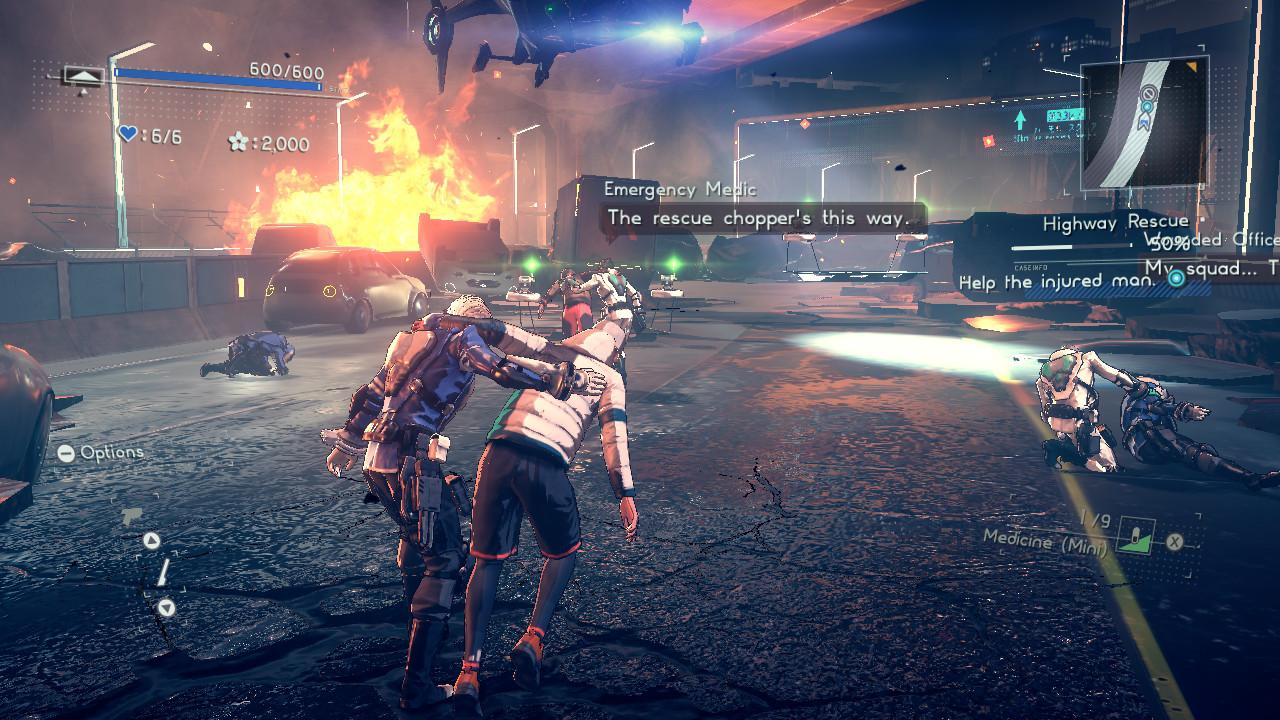 Astral Chain — неоновый город, полиция будущего  Рецензия / Игры