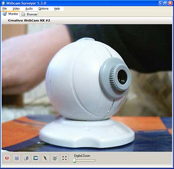Webcamsurveyor