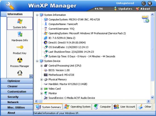 winxpmanager