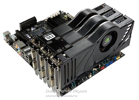 PCI Express X16 3 Way SLI