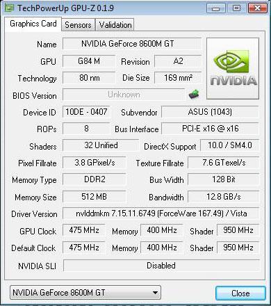 Видеокарту драйвера новые самые geforce gt на 8600