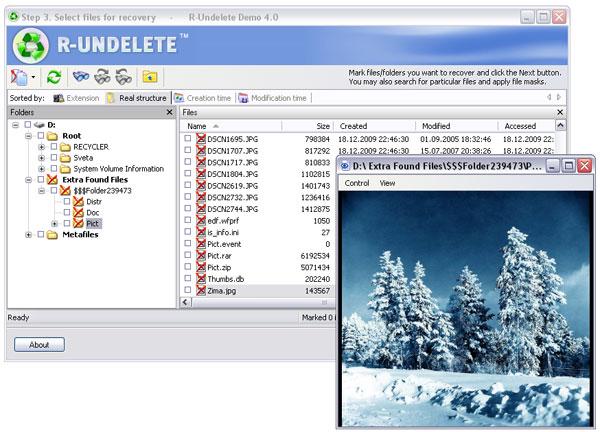Программа восстановление удаленных папок и файлов