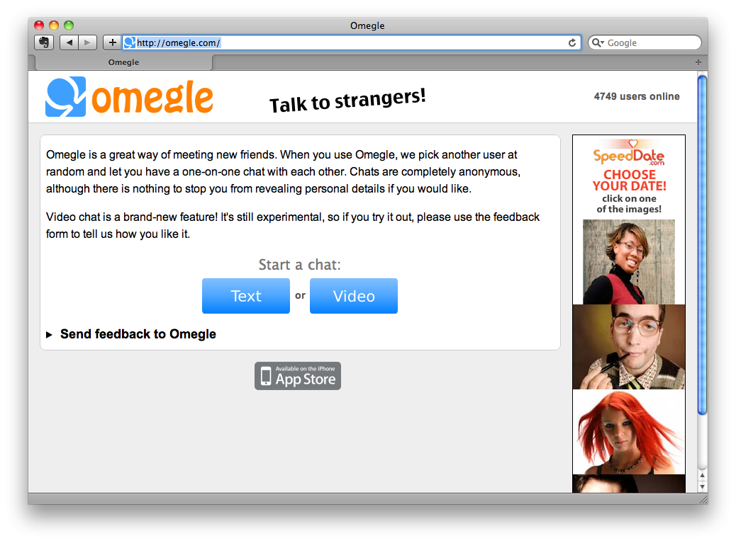 общение по веб камере с девушками без регистрации бесплатно с неограничным временем