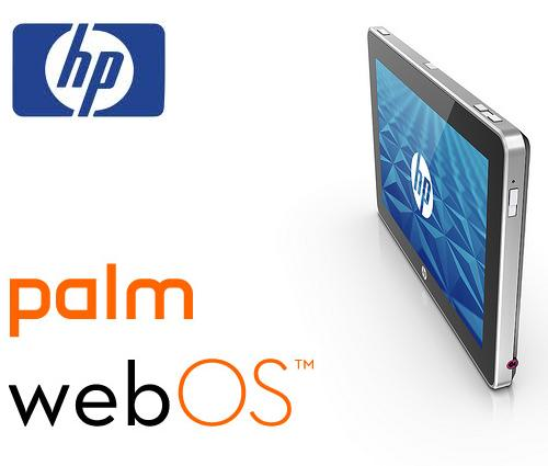 webOS HP Slate Palm