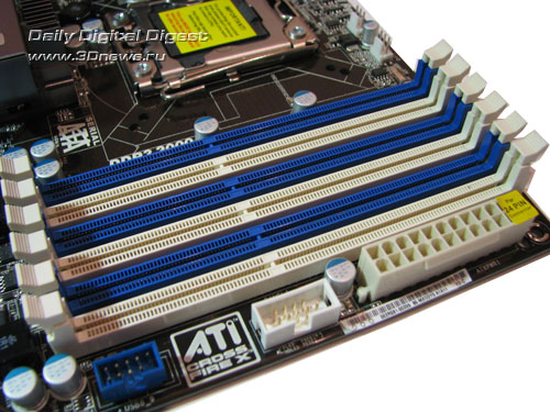 ASRock X58 Extreme3 DIMMs