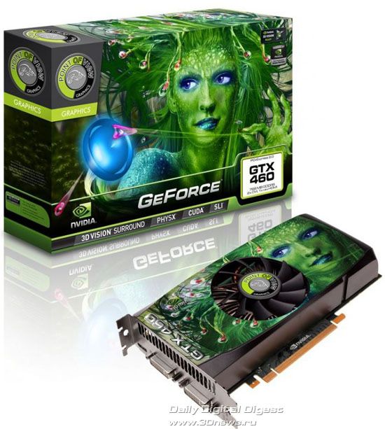 Point Of View GeForce GTX 460 768MB GDDR5