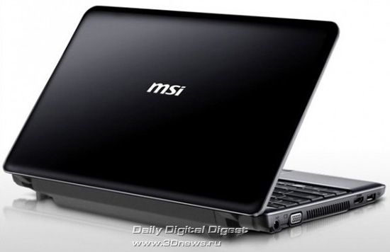 MSI Wind12 U230 Light
