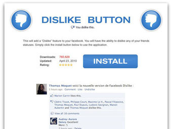 Facebook Dislike Button