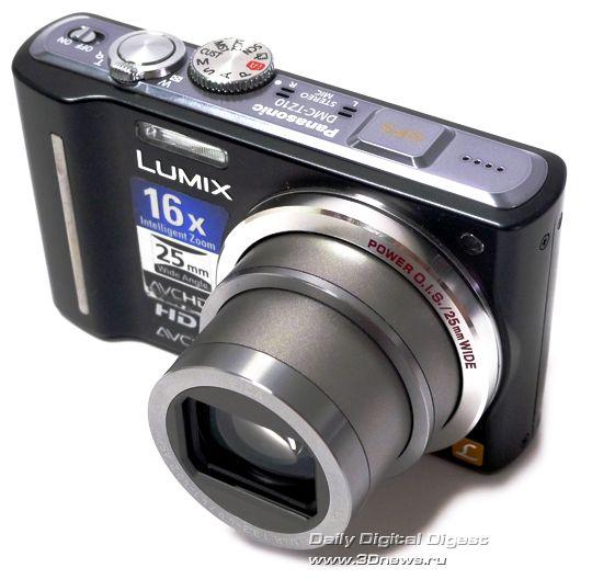 Panasonic Lumix TZ10: карманный фото/видео GPS-ультразум