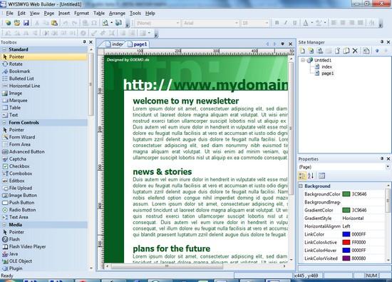программа создания сайтов бесплатно скачать