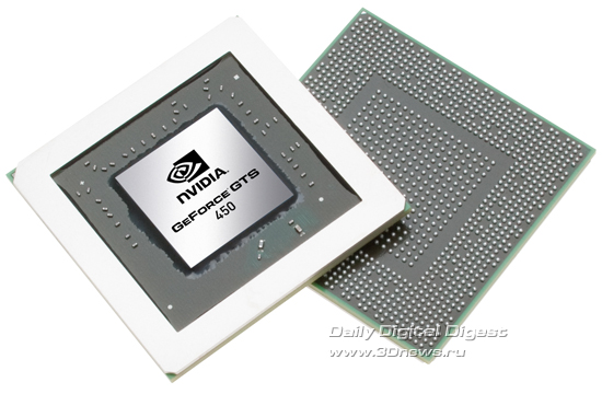 NVIDIA GeForce GTS 450