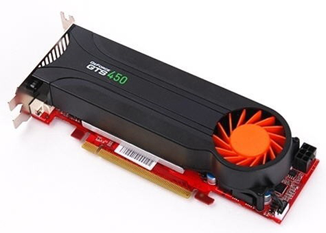 Gainward GeForce GTS 450 Low Profile GOOD Edition