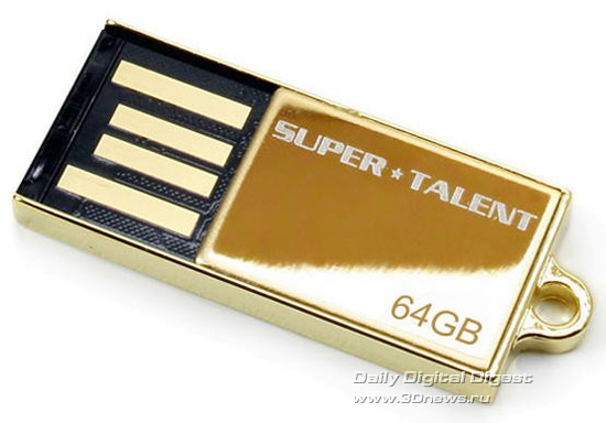 Super Talent 64GB Special Edition Pico-C