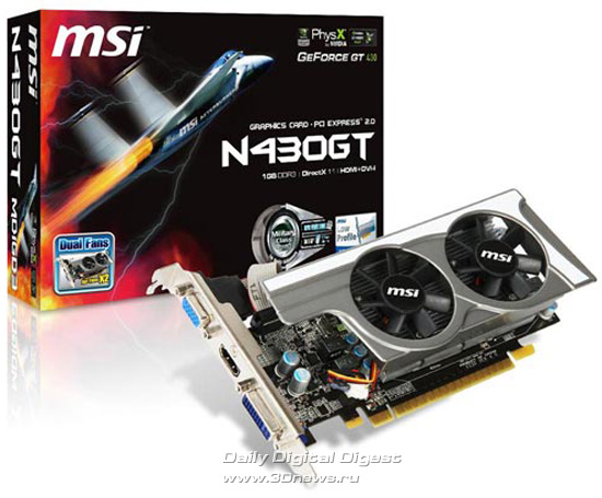 MSI N430GT-MD1GD3/LP
