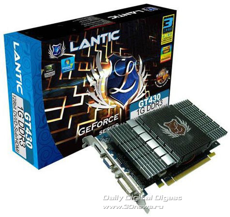 LANTIC GeForce GT 430
