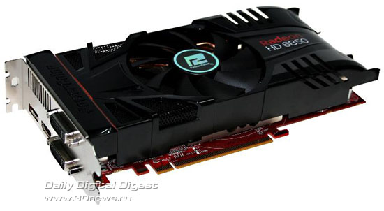 PowerColor PCS+ Radeon HD 6850 1GB GDDR5