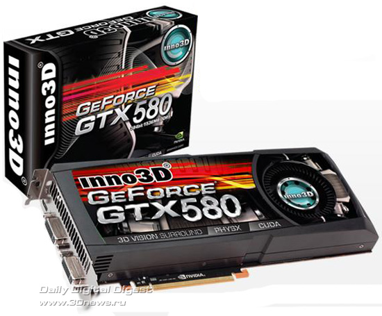 Inno3D GeForce GTX 580