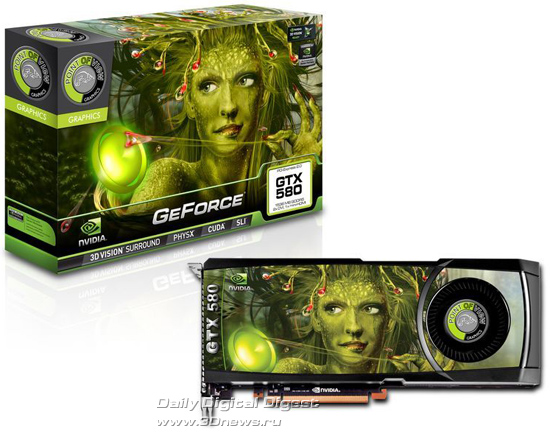 Point of View GeForce GTX 580
