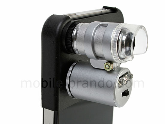 iPhone 4 Microscope and Note Checker