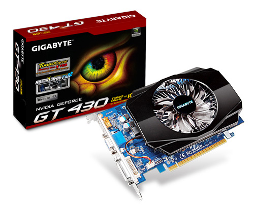 Gigabyte GeForce GT 430 Turbo Cache: назад в 2004 год