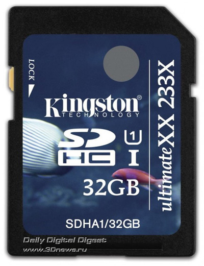 Kingston 32GB UHS-I UltimateXX SDHC Card