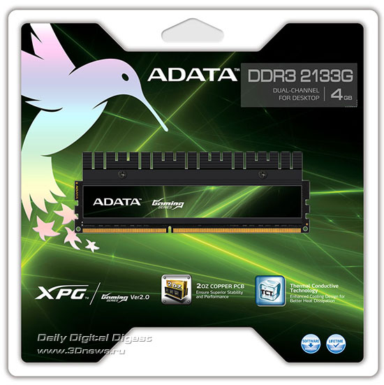 ADATA XPG Gaming Series V2.0 DDR3-2133G