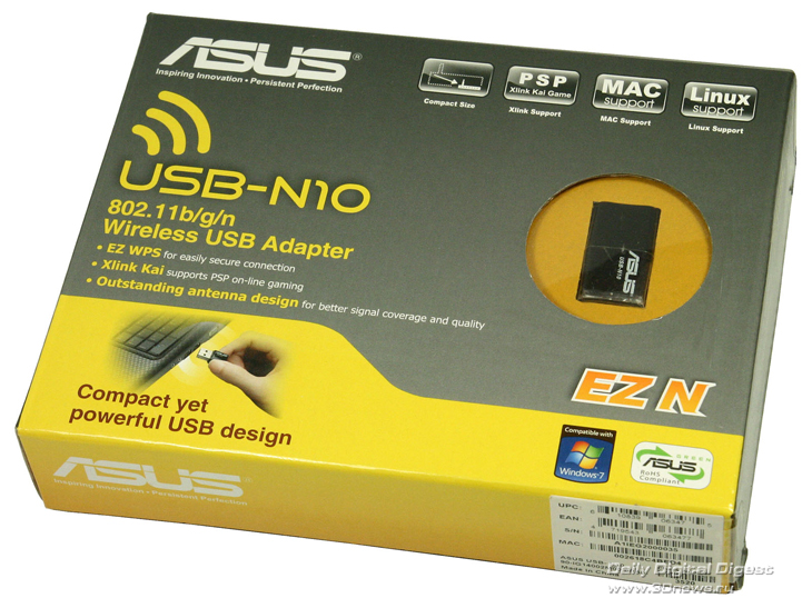 ASUS EZ N 802.11B/G/N WIRELESS USB ADAPTER DRIVERS FOR WINDOWS 10