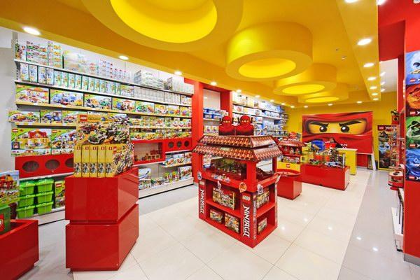 фирменный магазин лего в москве