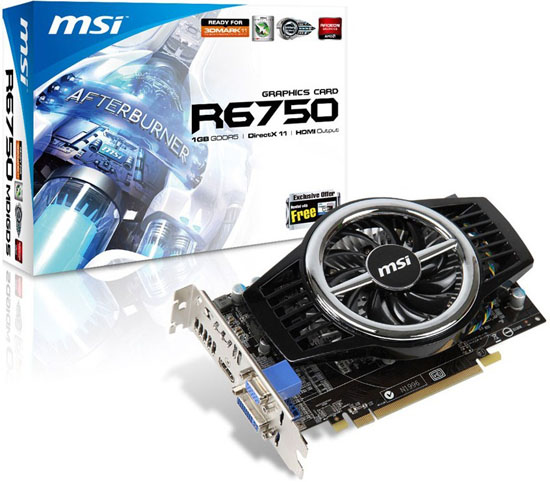 MSI R6750-MD1GD5
