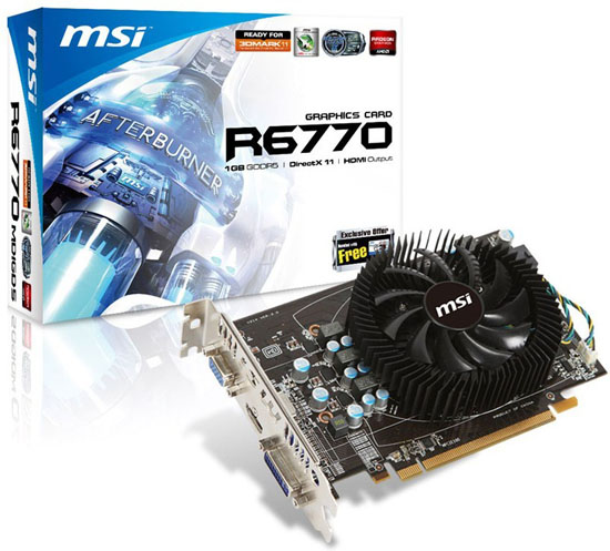MSI R6770-MD1GD5