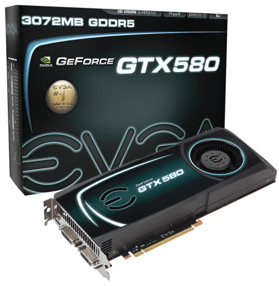 EVGA GeForce GTX 580 3072MB
