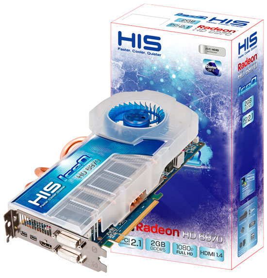 HIS Radeon HD 6970 IceQ 2GB GDDR5