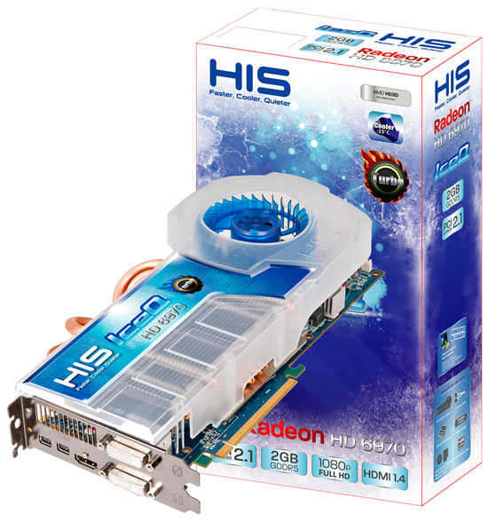 HIS Radeon HD 6970 IceQ Turbo 2GB GDDR5