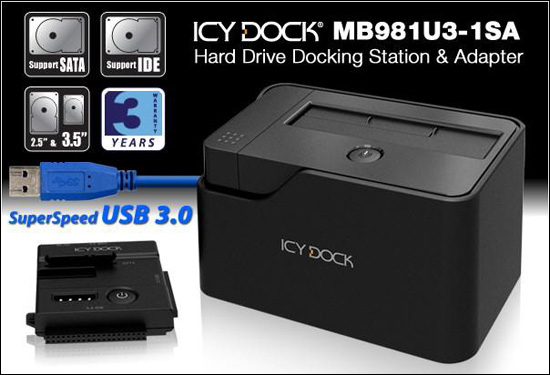 ICY DOCK MB981U3-1SA