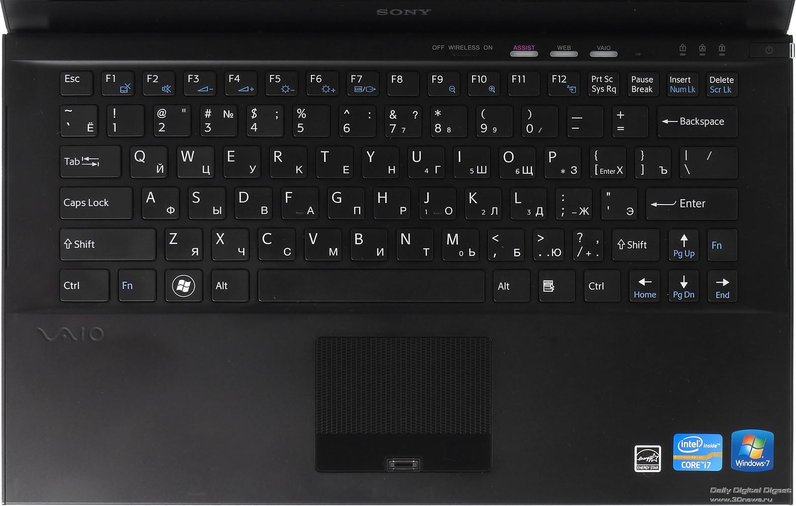 Скачать драйвер на клавиатуру ноутбука sony vaio