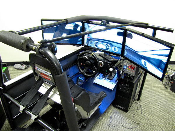 Авиа симулятор педали и кабина