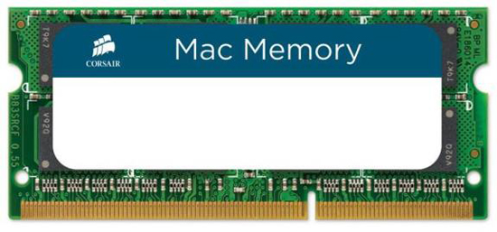 Corsair 4GB DDR3-1066 Memory Module for Macs