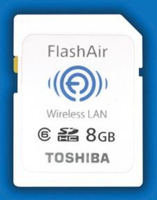 Toshiba 8GB FlashAir SDHC Card