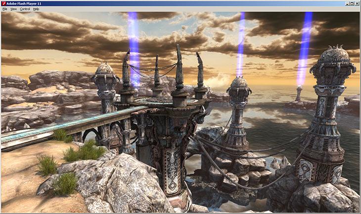 Unreal Engine 3 приходит на Flash