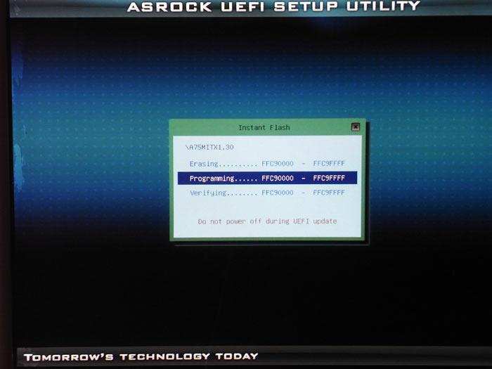 Обзор материнской платы ASRock A75M-ITX на чипсете AMD A75