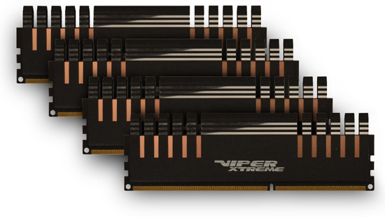 Patriot Viper Xtreme Series, Division 4 Edition DDR3 Quad Channel Memory Kit