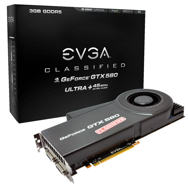 GeForce GTX 580 Classified Ultra