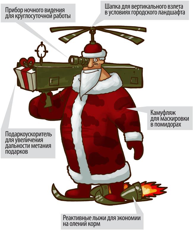 дед мороз военный открытка строка является