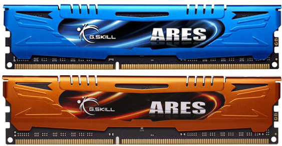 G.Skill Ares Series Low Profile DDR3 Memory Modules