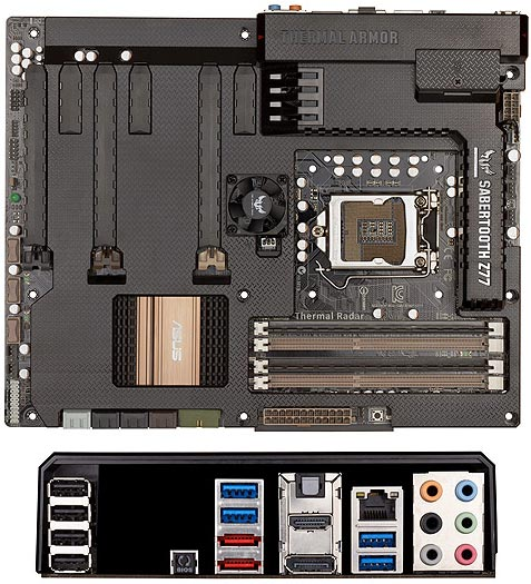ASUS TUF Series SABERTOOTH Z77