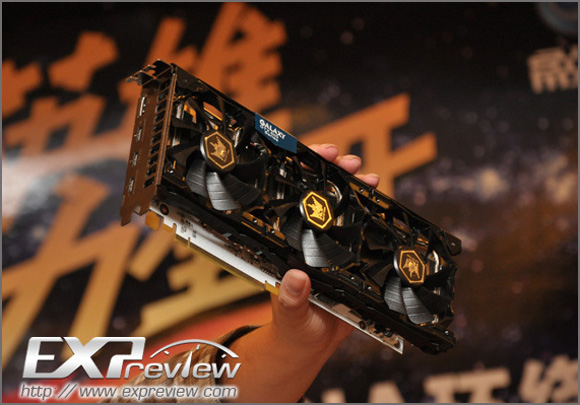 GALAXY GeForce GTX 680 Hall of Fame (HOF) Edition