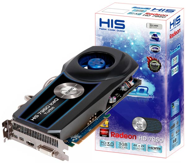 HIS Radeon HD 7950 IceQ Turbo 3GB GDDR5