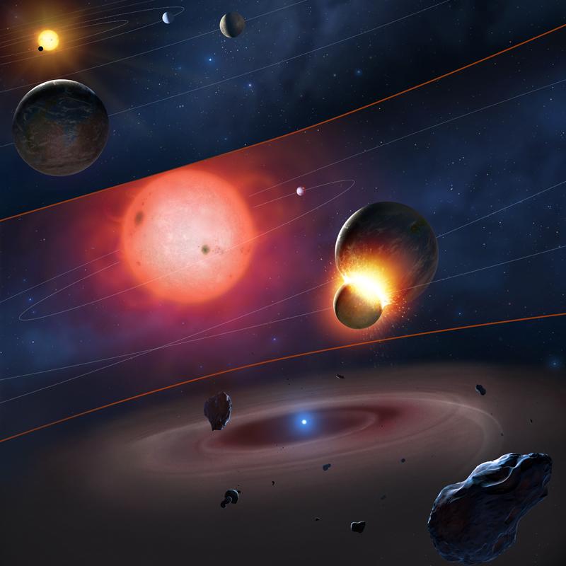 Новые планеты в картинках